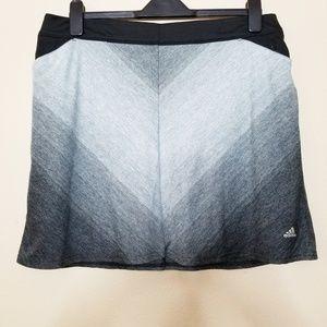 Adidas | Gray Golf Rangewear A-Line Skort